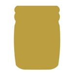 "Mason Jar 18"" Cutout (36 per case, $2.99/pc)"