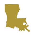 "Louisiana State 18"" Cutout (36 per case, $2.99/pc)"