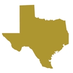 "Texas State 18"" Cutout (36 per case, $2.99/pc)"