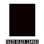 16 X 20 BLACK CANVAS - SALE! NOW $1.90/pc (24 Count, $2.07/pc)