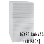 16 X 20 CANVAS - (40 Count, $1.89/pc)
