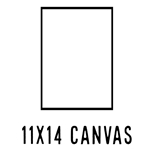 *NEW* 11 X 14 CANVAS (40 count, $1.54/pc)