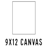 *NEW* 9 X 12 CANVAS (40 count, $1.37/pc)