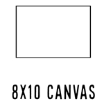 *NEW* 8 X 10 CANVAS (40 count, $1.26/pc)