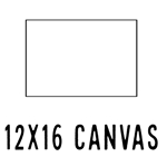 *NEW* 12 X 16 CANVAS (40 count, $1.66/pc)