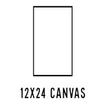 *NEW* 12 X 24 CANVAS (40 count, $3.27/pc)