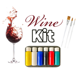 Virtual Painter Wine Kit - Ships free directly to your customer! ($25.00/pc includes shipping)
