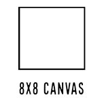 *NEW* 8 X 8 CANVAS (35 count, $1.18/pc)