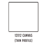 12 X 12 THIN PROFILE CANVAS - SALE! NOW $1.09/pc (35 Count, $1.53/pc)