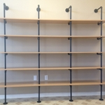 Large Pipe Shelf