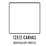 12 X 12 WIDE PROFILE CANVAS - SALE! NOW: $2.00/pc (15 Count, $2.48/pc)